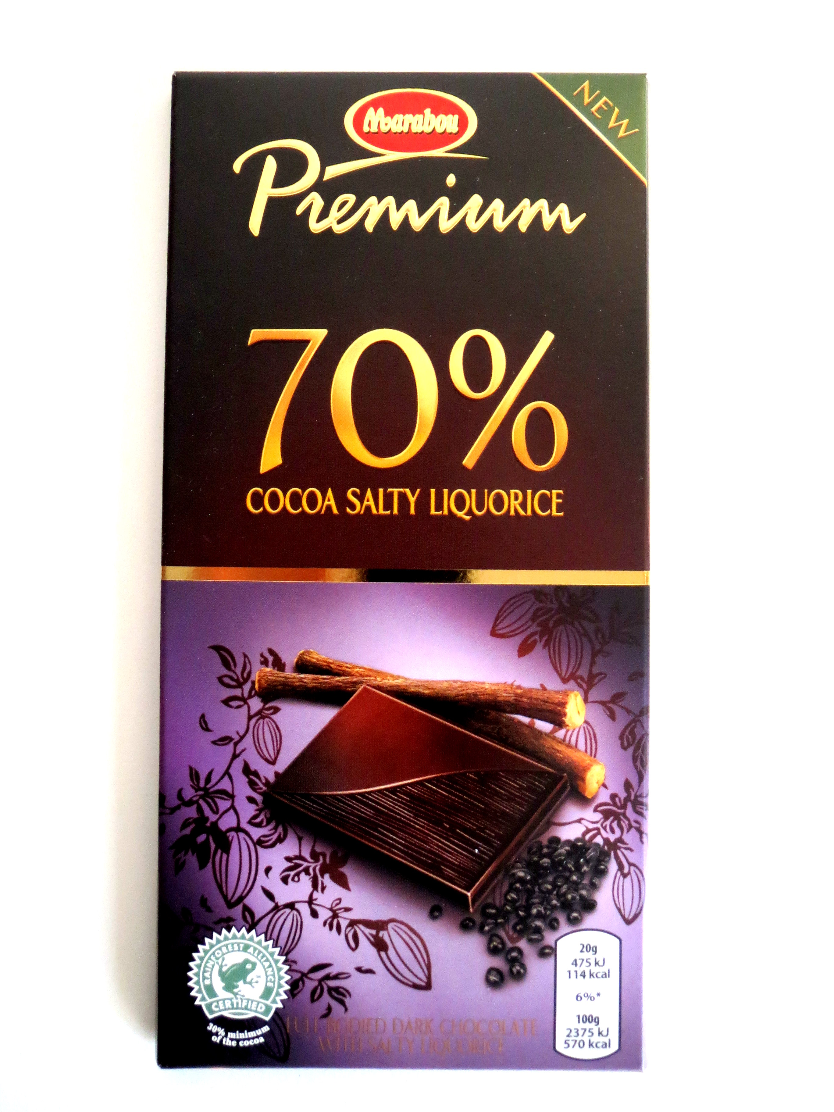 marabou premium 70 cocoa salty liquorice kakao salz lakritz schokolade 100g ebay. Black Bedroom Furniture Sets. Home Design Ideas